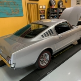 1966 Mustang K code GT fastback Silver Frost -2