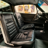 1966 Mustang K code GT fastback Silver Frost -21