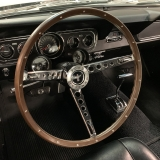1966 Mustang K code GT fastback Silver Frost -22
