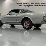 1966 Mustang K code GT fastback Silver Frost -25