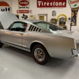 1966 Mustang K code GT fastback Silver Frost -26