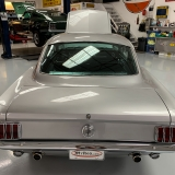 1966 Mustang K code GT fastback Silver Frost -30
