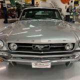 1966 Mustang K code GT fastback Silver Frost -31
