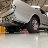 1966 Mustang K code GT fastback Silver Frost -4