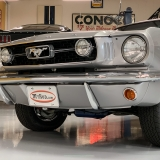 1966 Mustang K code GT fastback Silver Frost -52