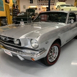 1966 Mustang K code GT fastback Silver Frost -6