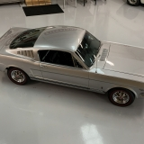 1966 Mustang K code GT fastback Silver Frost -66
