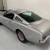 1966 Mustang K code GT fastback Silver Frost -67