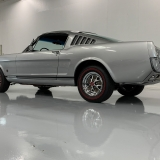 1966 Mustang K code GT fastback Silver Frost -68