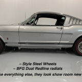 1966 Mustang K code GT fastback Silver Frost -69