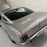 1966 Mustang K code GT fastback Silver Frost -71