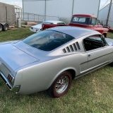 1966 Mustang K code GT fastback Silver Frost -72