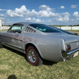 1966 Mustang K code GT fastback Silver Frost -73