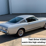 1966 Mustang K code GT fastback Silver Frost -74
