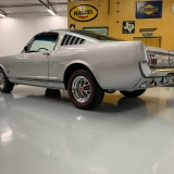 1966 Mustang K code GT fastback Silver Frost -76