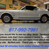 1966 Mustang K code GT fastback Silver Frost -79