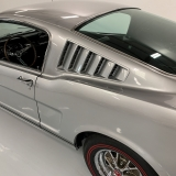 1966 Mustang K code GT fastback Silver Frost -8