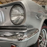 1966 Mustang K code GT fastback Silver Frost -9
