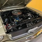 1966 Mustang convertible Sauterne Gold 289 Pony interior Concours -11