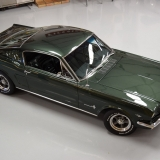 1966 Mustang fastback Ivy Green GT options 289-1