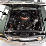 1966 Mustang fastback Ivy Green GT options 289-14