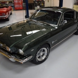 1966 Mustang fastback Ivy Green GT options 289-2