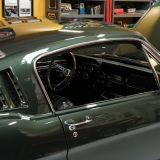 1966 Mustang fastback Ivy Green GT options 289-3