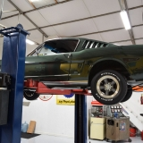 1966 Mustang fastback Ivy Green GT options 289-30