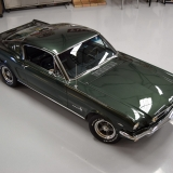 1966 Mustang fastback Ivy Green GT options 289-37