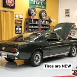 1966 Mustang fastback Ivy Green GT options 289-38