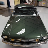 1966 Mustang fastback Ivy Green GT options 289-40