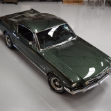 1966 Mustang fastback Ivy Green GT options 289-47
