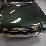1966 Mustang fastback Ivy Green GT options 289-6