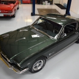 1966 Mustang fastback Ivy Green GT options 289-8