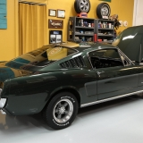 1966 Mustang fastback Ivy Green GT options 289-9