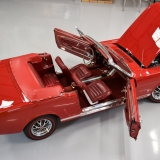 1966 Mustang GT convertible Candy Apple Red-1