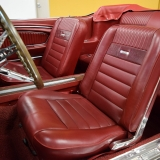 1966 Mustang GT convertible Candy Apple Red-14