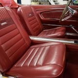1966 Mustang GT convertible Candy Apple Red-15