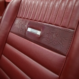 1966 Mustang GT convertible Candy Apple Red-16