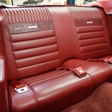 1966 Mustang GT convertible Candy Apple Red-17