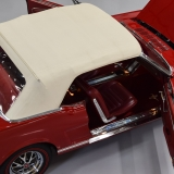 1966 Mustang GT convertible Candy Apple Red-19