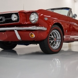 1966 Mustang GT convertible Candy Apple Red-21