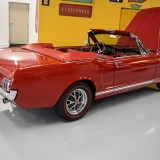 1966 Mustang GT convertible Candy Apple Red-22