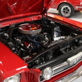 1966 Mustang GT convertible Candy Apple Red-23