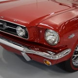 1966 Mustang GT convertible Candy Apple Red-3