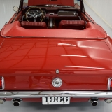 1966 Mustang GT convertible Candy Apple Red-36