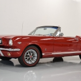 1966 Mustang GT convertible Candy Apple Red-39