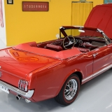 1966 Mustang GT convertible Candy Apple Red-40