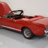 1966 Mustang GT convertible Candy Apple Red-41
