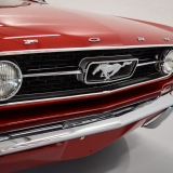 1966 Mustang GT convertible Candy Apple Red-42